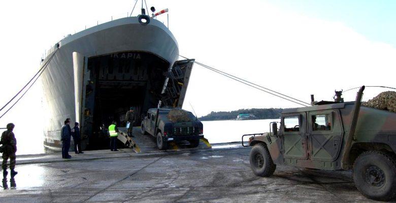 Με τρία Αρματαγωγά η Απόβαση των Κομάντο της 32ΤΑΞ Π/Ν σε νησί των Σποράδων ..»ΑΙΓΙΑΛΟΣ 2/2018″