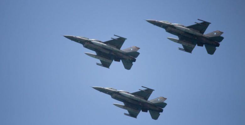 Μια Τριάδα των F-16 της 340Μ της 115ΠΜ στο Ισραήλ!(video)