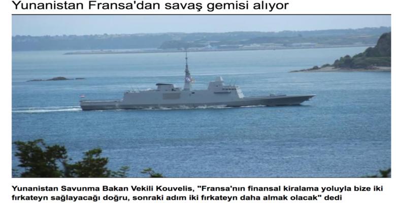 Τους έτσουξε τους Τούρκους …Οι Ρωμιοί παίρνουν Πολεμικά απο την Γαλλία !