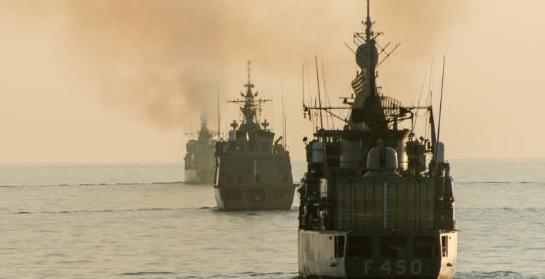 Με Αστραπές και Βροντές βγήκε ο Στόλος στο Αιγαίο (video)…»Καίγονται τα Καράβια!!»
