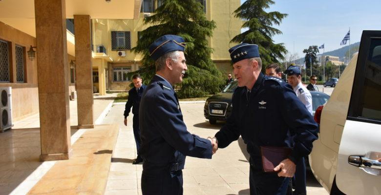 Στο ΓΕΑ ο Πτέραρχος Tod D. Wolters… Διοικητής USAFE & AFAFRICA