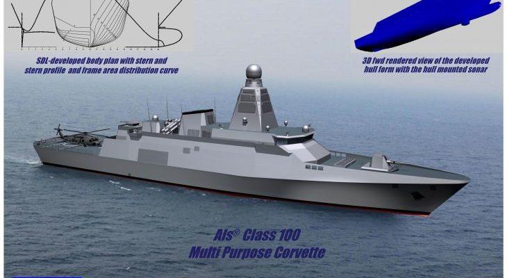 Που να βρίσκεται άραγε η …Σχεδίαση της Ελληνικής Κορβέτας Als® Class 100 ;