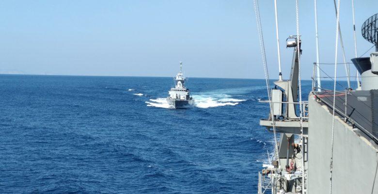 Συνεκπαίδευση Ελληνικών Πολεμικών Σκαφών …Με τη Νατοϊκή Δύναμη «SNMG2»