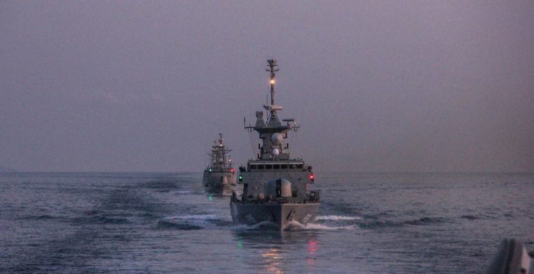 Άσκηση «Πρόβα» Ανάσχεσης του Πολεμικού Ναυτικού! (φωτό) …Πολεμικά Σκάφη Οργώνουν το Αιγαίο