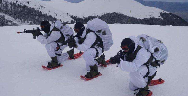 Οι Ευέλπιδες σε…Μάχη Χιονοδρόμων στο Όρος των Θεών (ΚΕΟΑΧ -φωτό).