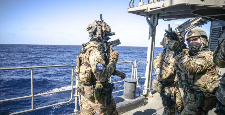 Κομάντο των Ειδικών Δυνάμεων του ΠΝ έκαναν «Ρεσάλτο» …Στην Φ/Γ «ΛΗΜΝΟΣ» στην Αν. Μεσόγειο (φωτό)