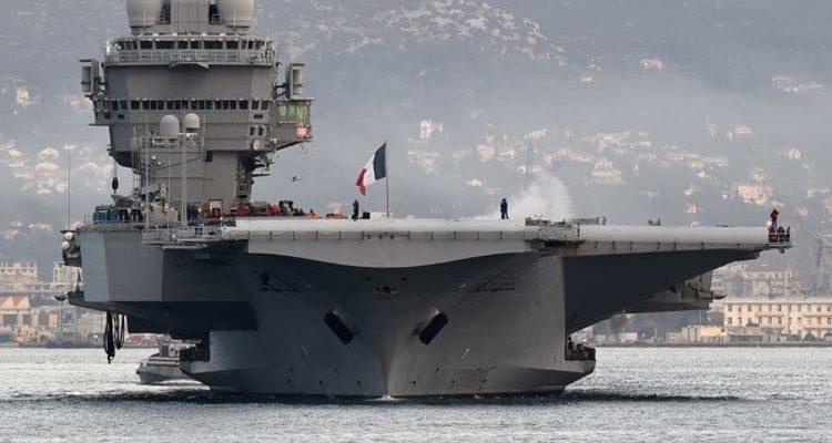 Στη Λεμεσό κατέπλευσε το Γαλλικό Αεροπλανοφόρο «Charles De Gaulle»