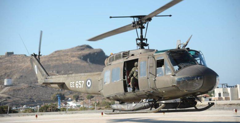 Τουρκικά F-16 παρενόχλησαν το Ε/Π UH-1H Heuy με τον Αρχηγό ΓΕΣ στη νήσο Ρω!