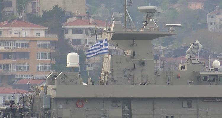 «Yunan savaş gemisi Boğaz'dan geçti «…Κραυγάζουν τα Τουρκικά ΜΜΕ (video)