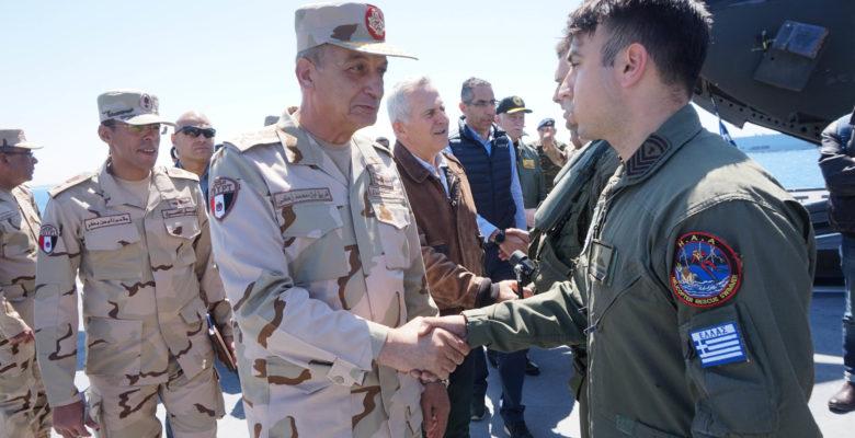 Θερμή Υποδοχή του Στρατηγού Μοχάμεντ Ζάκι στους …ΥΠΑΜ Ελλάδος & Κύπρου στην Τελική φάση της «ΜΕΔΟΥΣΑΣ 8» (φωτό & video)