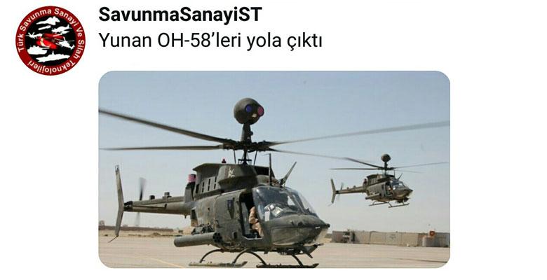Ανησυχούν και οι Τούρκοι …Τα Ελικόπτερα ΟΗ-58DT έρχονται !!