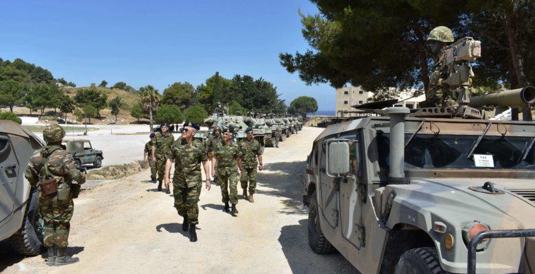 Από τα Φυλάκια του Έβρου στα νησιά …Γιατί τρέχει ο Α/ΓΕΣ Στρατηγός Καμπάς;