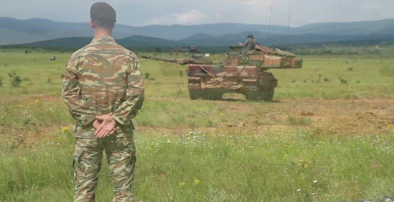 Τα Ελληνικά «Leopard 2HEL» μοιράζουν… «Φωτιά και Ατσάλι» και στη Βουλγαρία (φωτό και video)