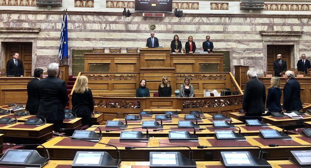 Ίμια: Ενός λεπτού σιγή στη μνήμη των πεσόντων αξιωματικών στη Βουλή, στα άδεια έδρανα! 1