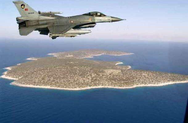 Τούρκικα F-16 ξανά πάνω απο το Αγαθονήσι…»Περίεργα συμβαίνουν στο Αιγαίο» 1