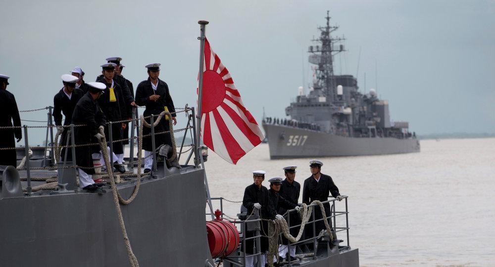 Ιαπωνικό πολεμικό πλοίο απέπλευσε για τη Μέση Ανατολή 1