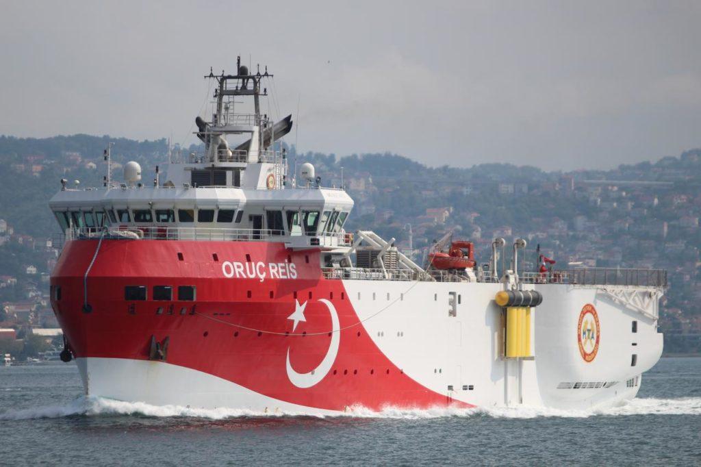 <div>Προς τα Κυπριακά  οικόπεδα 4 & 5 πλέει το Τουρκικό «Ορούτς Ρέις»</div> 1