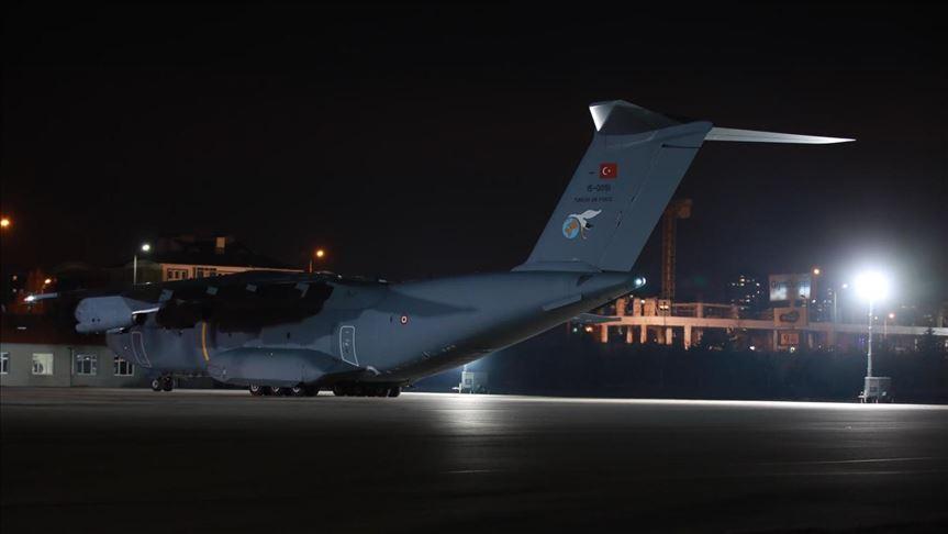 Τουρκικό Στρατιωτικό αεροσκάφος A400M μετέφερε 42 άτομα απο τη Κίνα 1