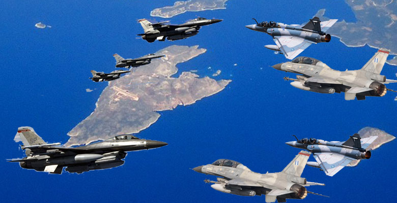 Χαμός στο Βόρειο Αιγαίο με 72 Παραβιάσεις  …14 Μαχητικά απογείωσε η  ΠΑ για να αναχαιτίσει τα Τούρκικα 1