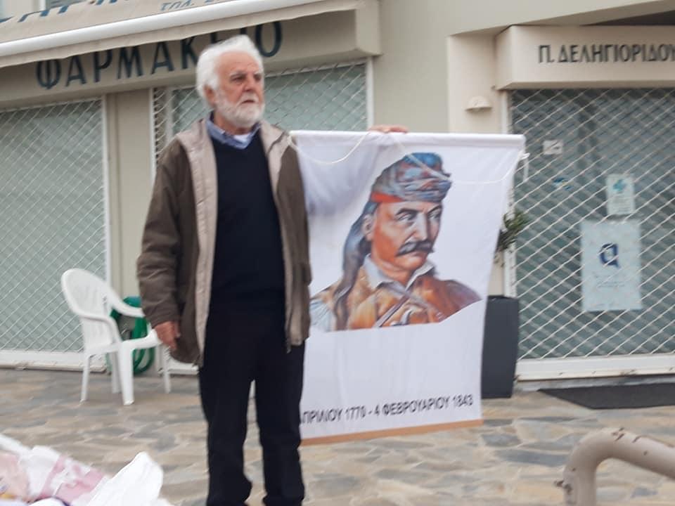 Υψώθηκε Σημαία 140τμ στη Νέα Κίο Αργολίδος …Παραμονές της 25ης Μαρτίου 2