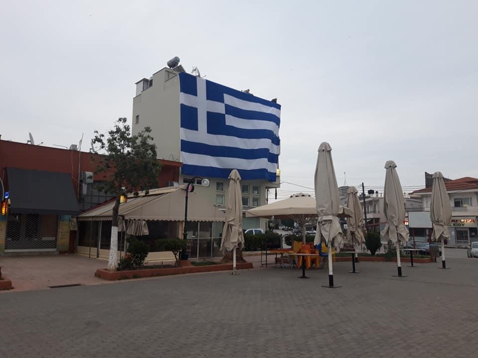 Υψώθηκε Σημαία 140τμ στη Νέα Κίο Αργολίδος …Παραμονές της 25ης Μαρτίου 3