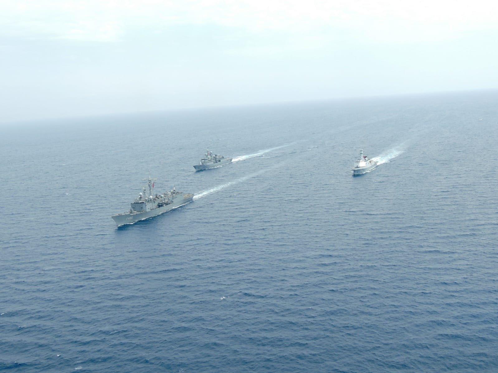 Βγήκαν τα Τουρκικά Πολεμικά Σκάφη…στο Αιγαίο 1