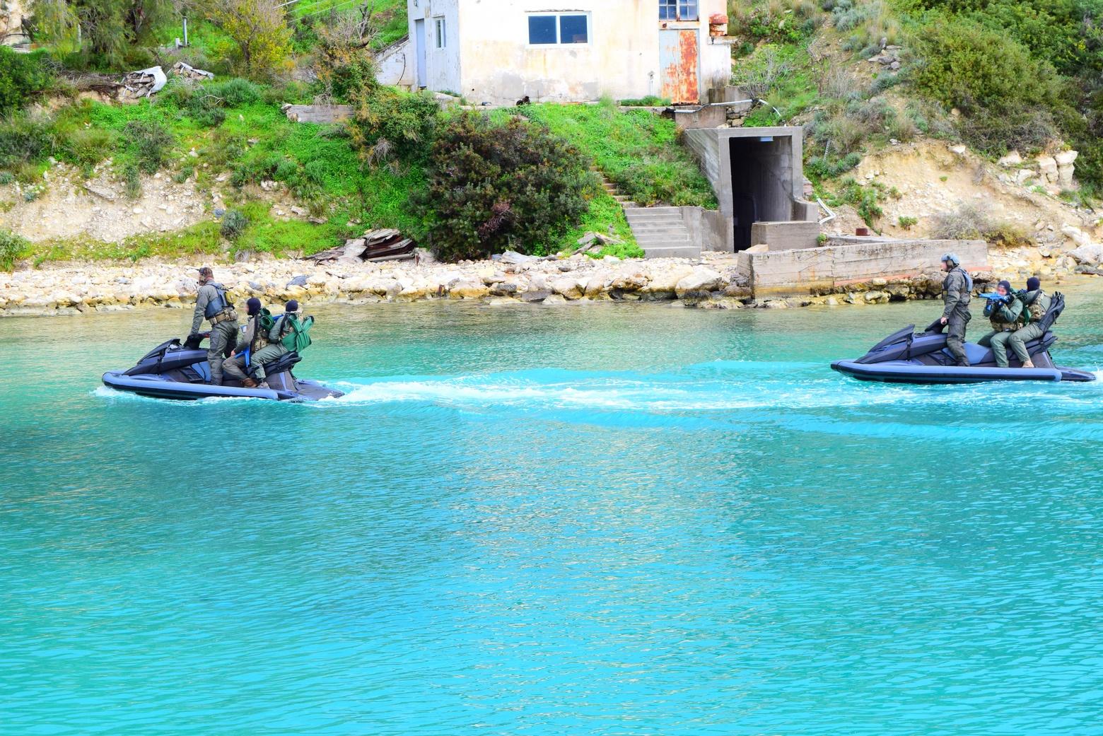 Διακρατική άσκηση Ελλάδας-Κύπρου–ΗΠΑ στη Σούδα από Δυνάμεις Ειδικών Επιχειρήσεων 30