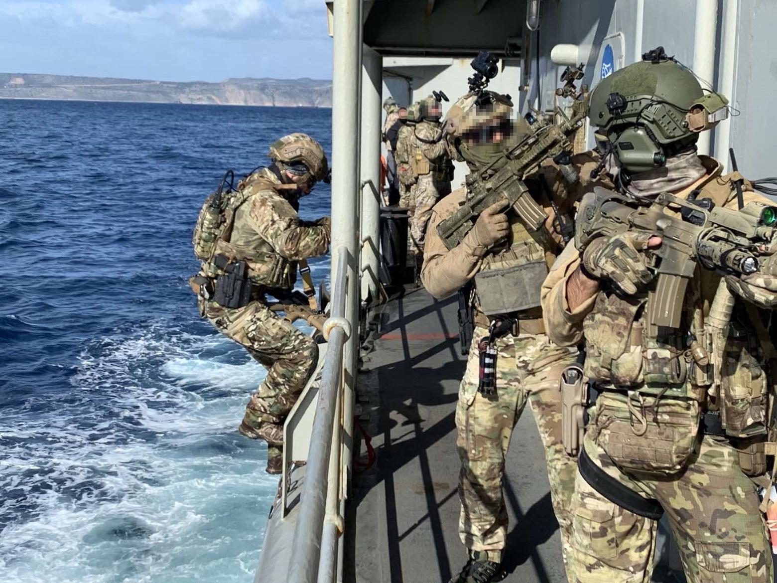 Διακρατική άσκηση Ελλάδας-Κύπρου–ΗΠΑ στη Σούδα από Δυνάμεις Ειδικών Επιχειρήσεων 18