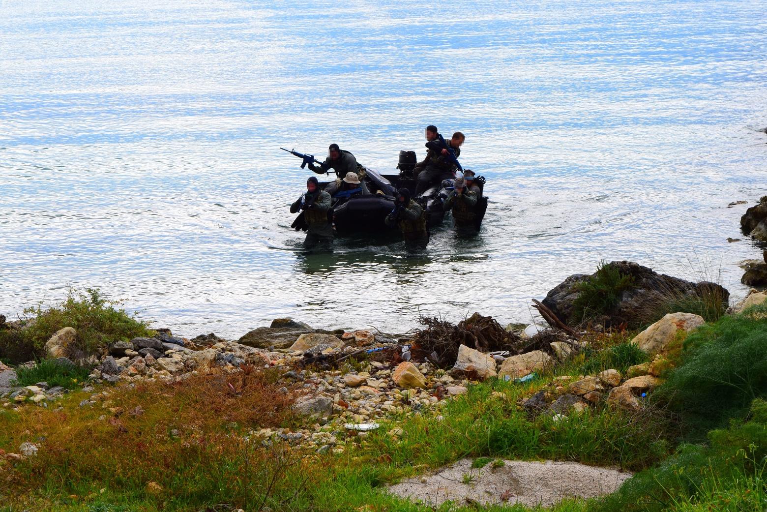 Διακρατική άσκηση Ελλάδας-Κύπρου–ΗΠΑ στη Σούδα από Δυνάμεις Ειδικών Επιχειρήσεων 23