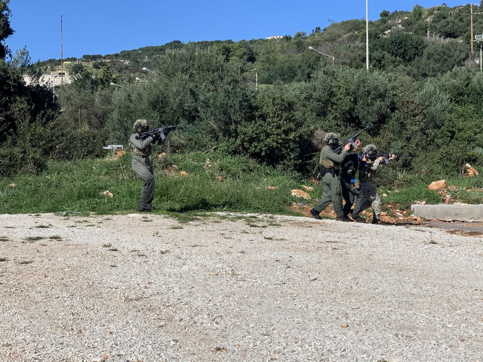 Διακρατική άσκηση Ελλάδας-Κύπρου–ΗΠΑ στη Σούδα από Δυνάμεις Ειδικών Επιχειρήσεων 4