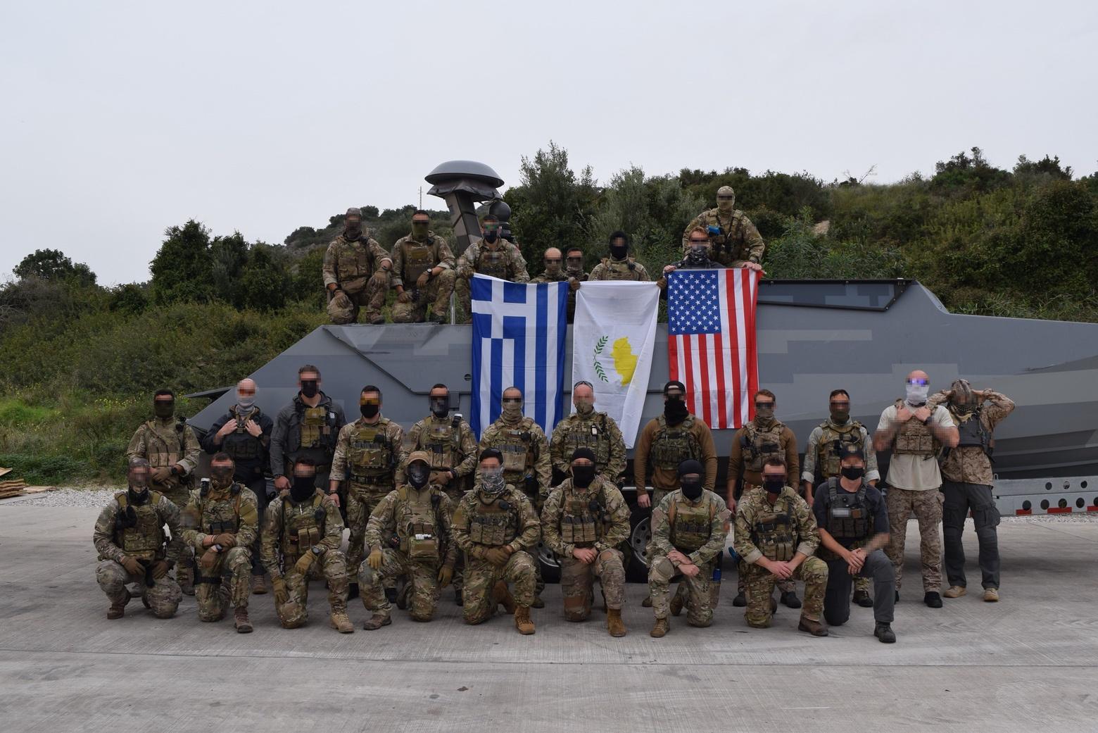 Διακρατική άσκηση Ελλάδας-Κύπρου–ΗΠΑ στη Σούδα από Δυνάμεις Ειδικών Επιχειρήσεων 1