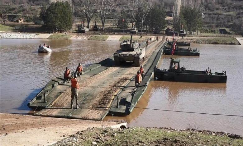 Turkey conducts river crossing exercise in Eastern Thrace close to the Greek border 3